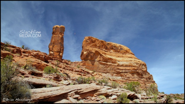 The 24th tower highline addition to Moab...