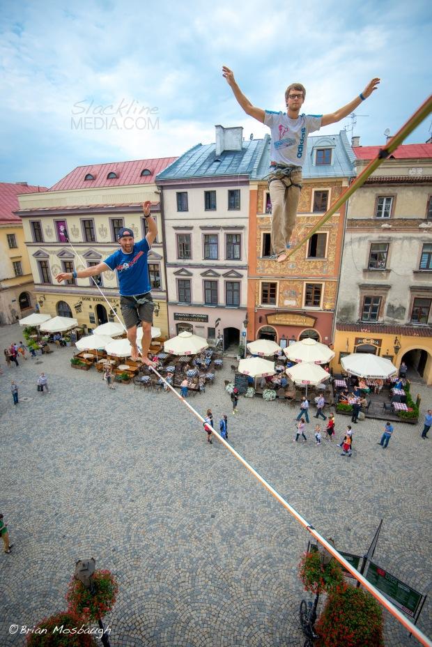Urban Highline Festival in Poland